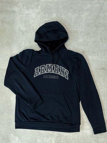 Armani Exchange мужское худи оригинал L размер свитер кофта свитшот