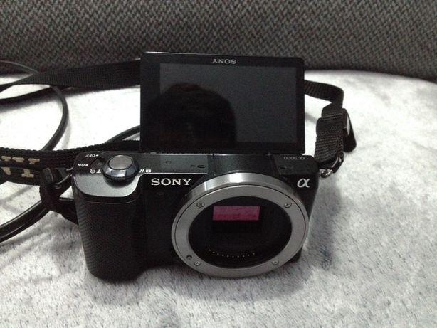 Sony A5000 Czarny + 16-50mm bezlusterkowiec 20MPx