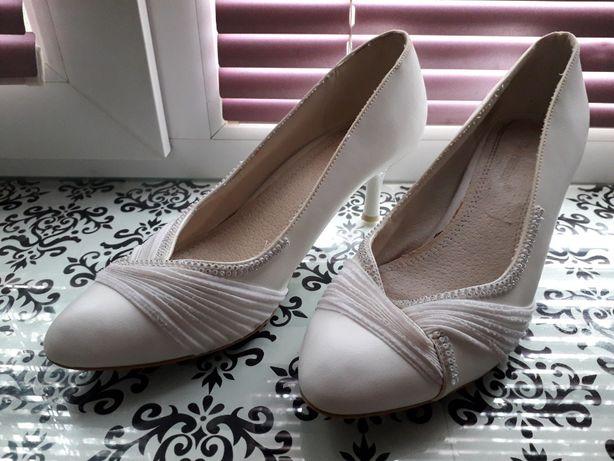Туфли белые Louisa Peeress