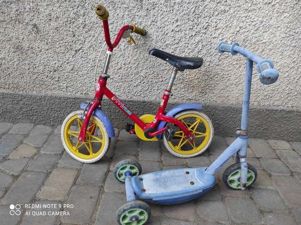 Детский велосипед, самокат