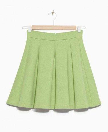 Трикотажная коттоновая юбка  для девочки подростка Р. 42-44