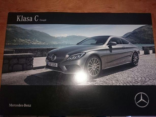 Katalog, prospekt Mercedes klasa C Coupe po polsku.