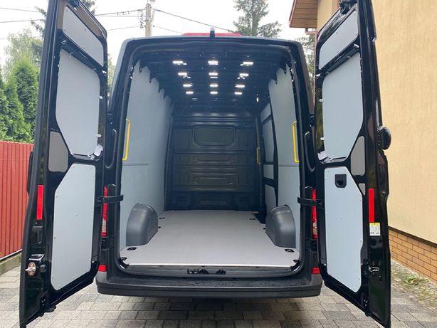 Volkswagen Crafter L3H3 zabudowa bus, podłoga, boki