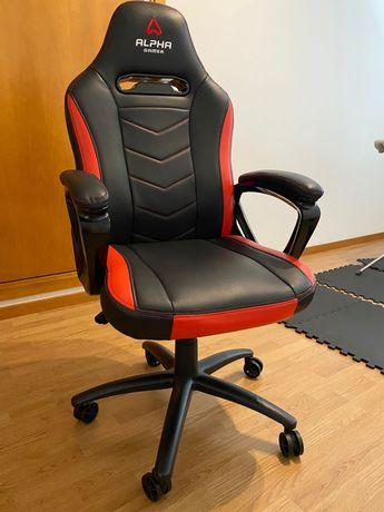 Cadeira Alpha Gamer Kappa - Vermelho/Preto