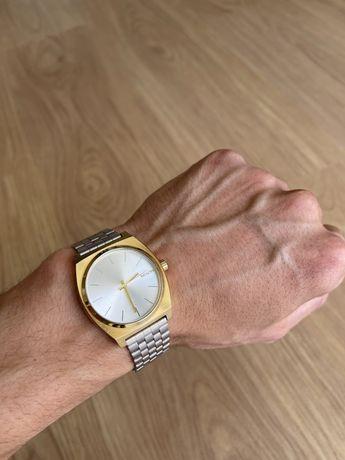 Nixon Time Teller Silver/ Gold