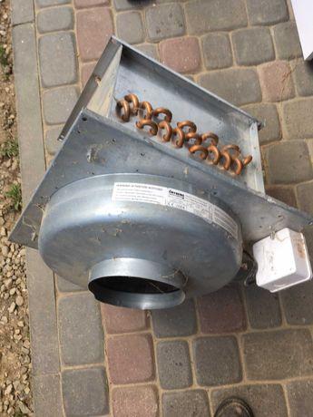 Венилятор Остберг OSTBERG KVFU 160 C (швеція) з нагрівачем (Англія)