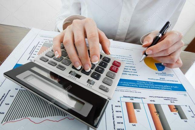Бухгалтерські послуги для ФОП бухгалтер, реєстрація ФОП