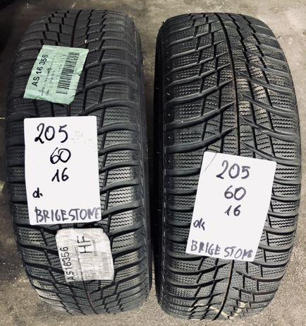 P.nowe opony zimowe 205/60/16 Bridgestone. 8mm!17rok, montaż/gwarancja