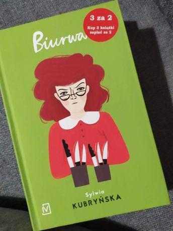 Biurwa, książka.
