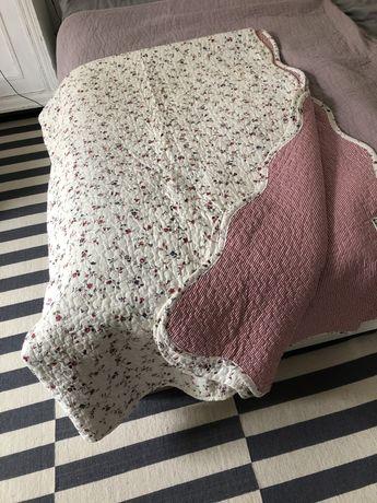 Piękna narzuta na łóżko Ikea Alvine Antik
