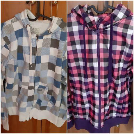 Bluzy damskie w kratę, cropp i diverse