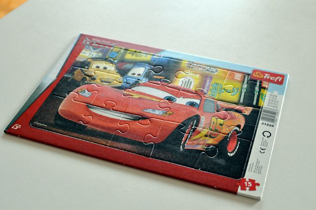 Puzzle zygzak McQueen