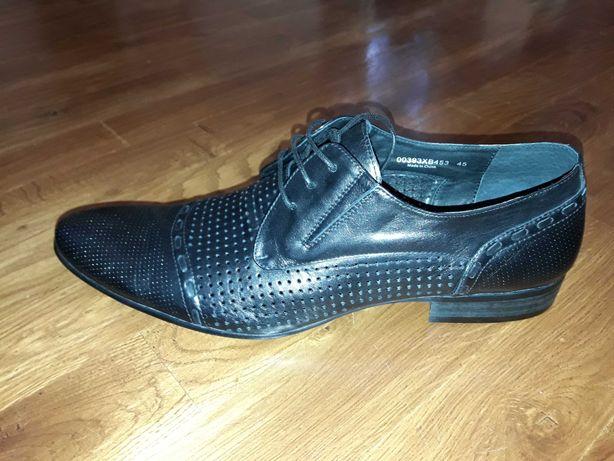 Туфли кожаные летние L'CARVARI