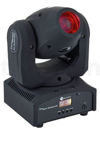 6 szt. Ruchome głowy PicoBeam 30 Quad LED