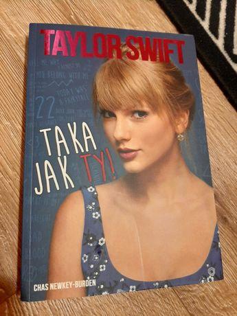 """Książka """"Taylor Swift - taka jak Ty!"""" z 2015 roku"""