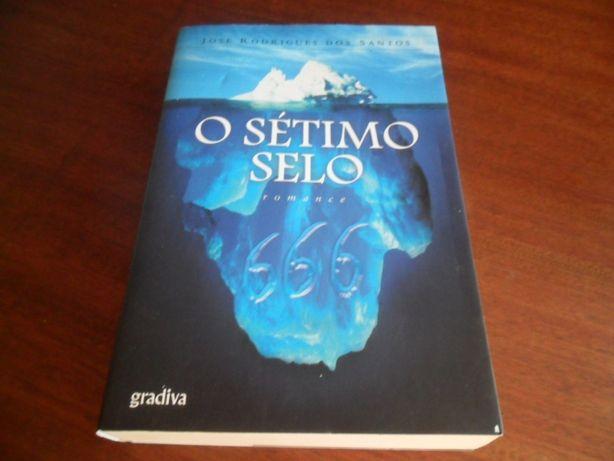 """""""O Sétimo Selo"""" de José Rodrigues dos Santos - 1ª Edição de 2007"""