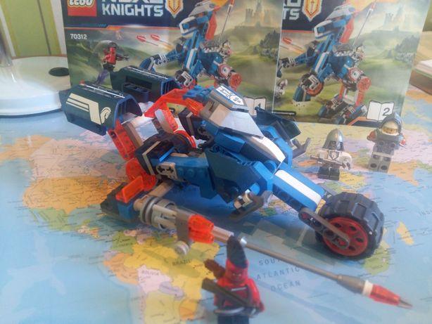 LEGO NEXO KNIGHTS Ланс и его механический конь (Артикул: 70312)