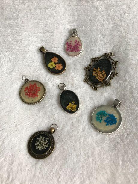 Biżuteria, więcej zdjęć w opisie, Literki, Kwiaty, Serca, Walentynki