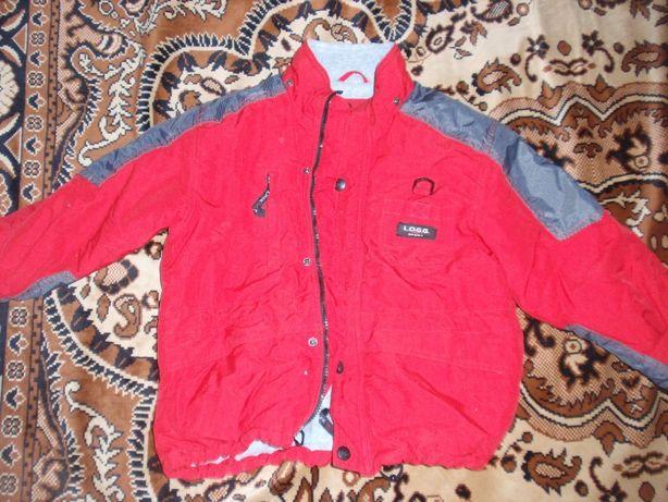 Куртка на хлопчика 122 розмір