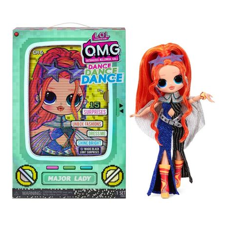 Кукла ЛОЛ ОМГ Леди-Крутышка LOL Surprise OMG Dance Major Lady 117889