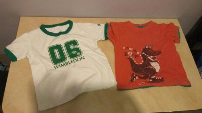 Koszulki, rozmiar 104, stan BARDZO DOBRY