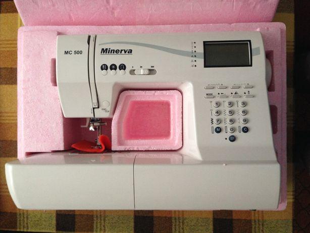 Продам электронную швейную машинку Minerva MC 500