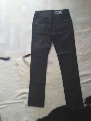 Spodnie S połyskowe nowe