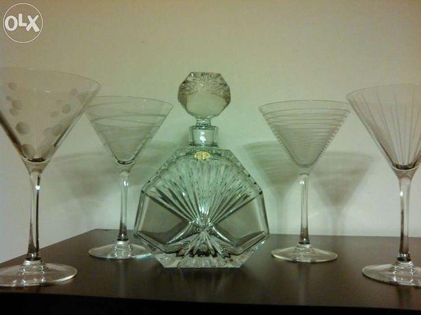 Garrafa de whisky cristal Atlantis
