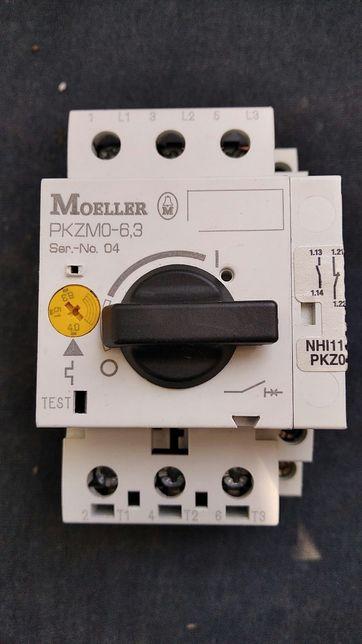 Автомат защиты двигателя Moeller PKZM0-6,3 c доп.конт