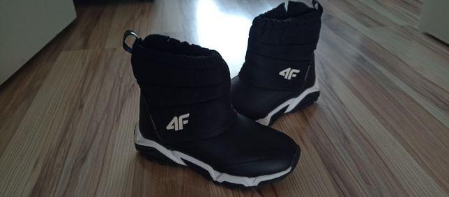Buty zimowe chłopięce rozmiar 34