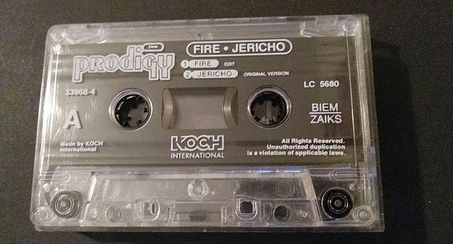 The Prodigy – Fire • Jericho ( Limited Edition), 1997,KASETA MAGNETOF