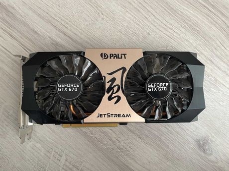 Palit GeForce GTX670 JetStream 2048MB GDDR5 (256bit) (NE5X670H1042)