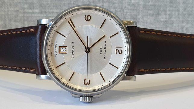 Мужские часы Certina Automatic 100m DS Caimano C017.407.36.037.00 38mm