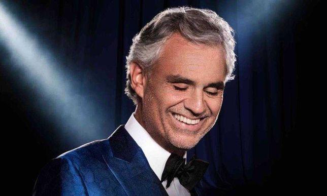 Bilhete Andrea Bocelli 26 de Junho