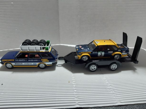 Assistência Fiat 131 Abarth 1/43