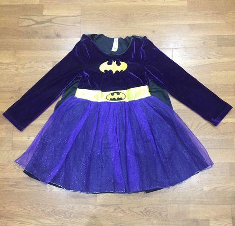 Карнавальное платье подруга Бетмена на 7-8 лет