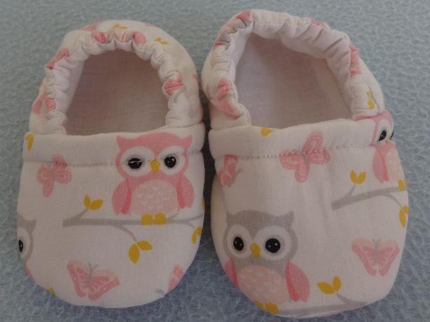 Sapato Bebé em tecido