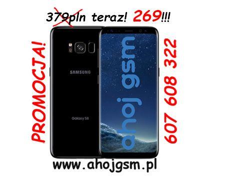 Wymiana szybki wyświetlacza Samsung s8 g950
