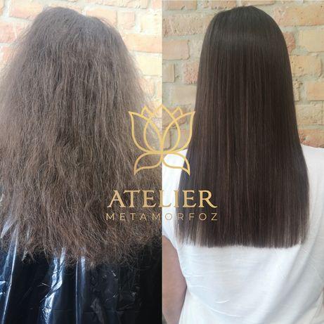 Keratynowe Prostowanie Włosów • Botox na Włosy/Keratyna/Złote Proteiny