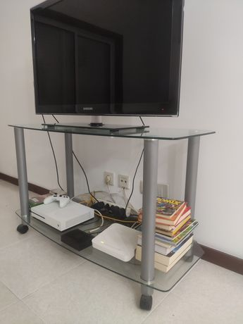 Mesa de vidro televisão