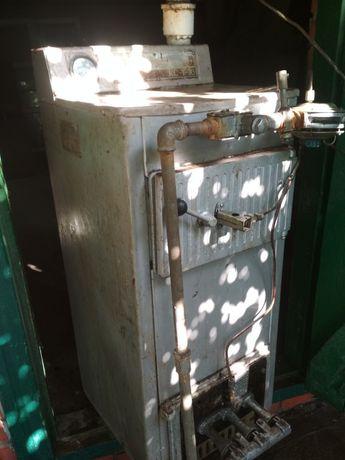 Твердотопливный котел кст - 16 с газовой автоматикой