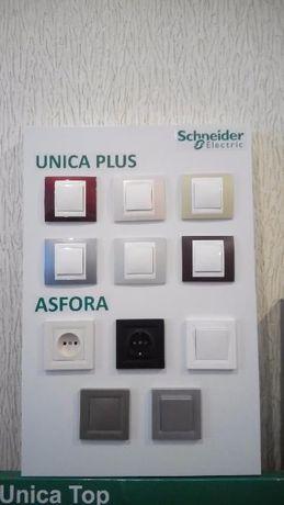 Скидки Розетки и выключатели ASFORA SEDNA UNICA NEW Schneider Electric