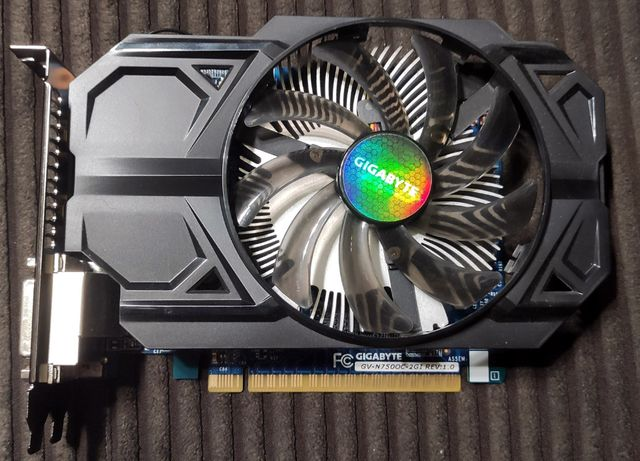 Karta graficzna Gigabyte GeForce GTX 750 OC 2GB DDR5 PCI-E