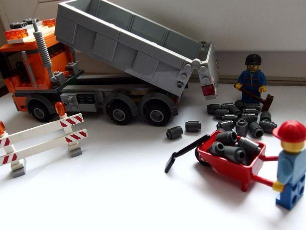 klocki lego budowa-wywrotka 4434