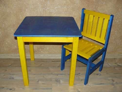 Stolik + 1 krzesełko dla dzieci DKS18