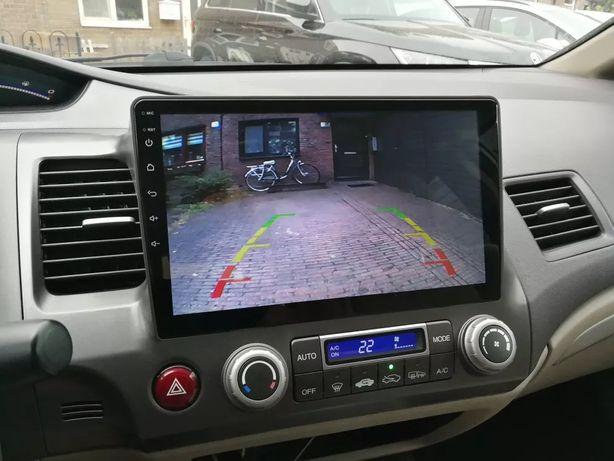 Honda Civic 8 2005 - 2011 radio tablet wyświetlacz android + carplay