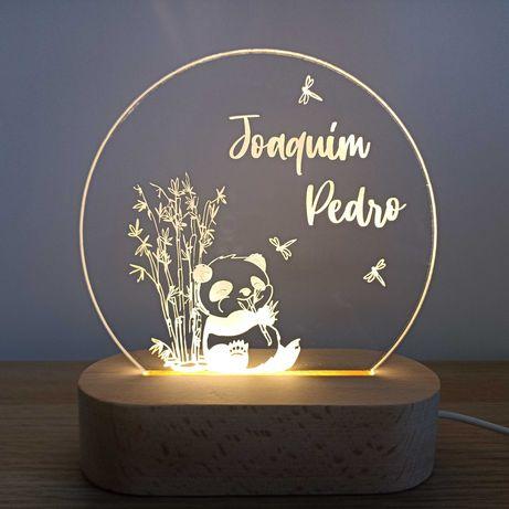 Luz de presença personalizável