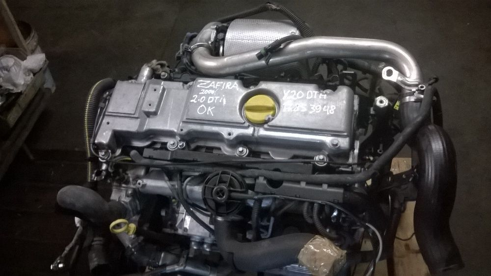 motor completo opel zafira 2.0dti ano 2004 y20dth