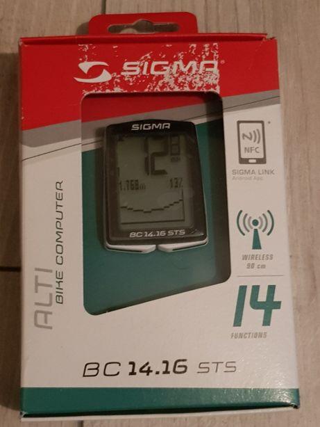 licznik rowerowy Sigma Bc 14.16 STS bezprzewodowy