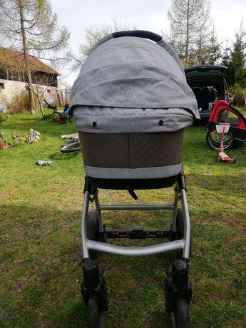 Wózek dziecięcy pompowane koła